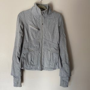 Lululemon Gray It's Happening Jacket